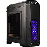Rosewill NAUTILUS 200B ATX Mid Tower Computer Case Chassis (Black)