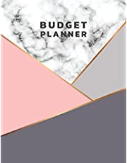 """Budget Planner: Yearly, Monthly and Daily Budget Planner - 8.5""""x11""""(Large Print) - 126 Pages Budget Journal Notebook: Budget Organizer"""