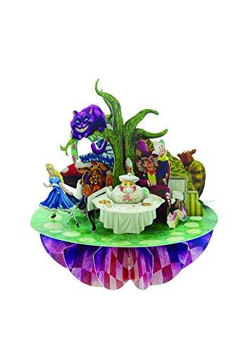 Santoro Pirouettes 3D Pop Up Card, Alice in Wonderland