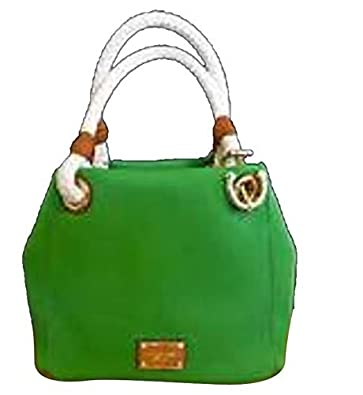 5ef0b81d2201 Image Unavailable. Image not available for. Color: Michael Kors Jet Set  Grab Bag Canvas ...