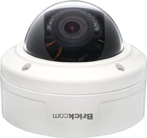 Brickcom Lowlight 1.3 MP Vandal Dome Network Camera (VD-132Np)