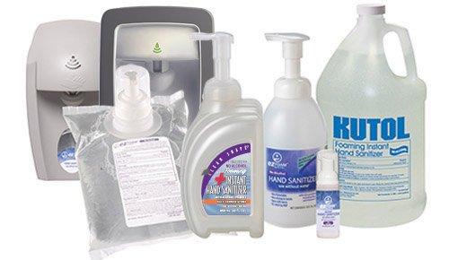 Kutol 68241 Foaming Instant Hand Sanitizer Alcohol Free 1 Case 6