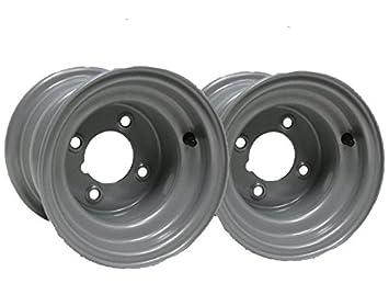 """Dos -8 """"pulgada de rueda de la rueda de paseo en la cortadora"""