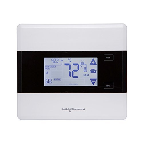 Iris 7-Day Touch Screen Programmable Thermostat Works with Iris