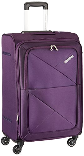 American Tourister Peru Polyester 55 cms Purple Soft Sided Carry-On (AMT PERU SP 55CM EXP – PURPLE)