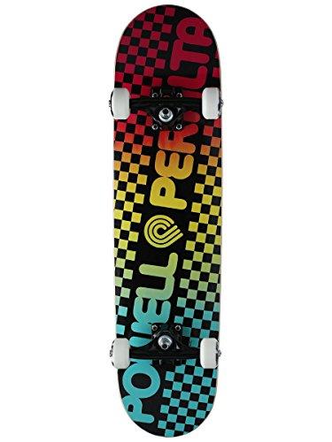 Checker Complete Skateboard (Powell-Peralta Checker Colby Fade Complete Skateboard, Blue)