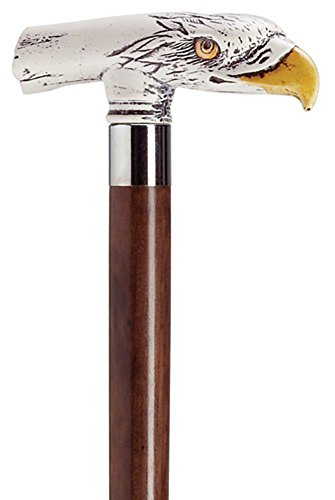 Scrimshaw Eagle Head Cane