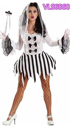 grande sconto volume grande nuove immagini di Gorgeous Abito Vampire Zombie vestiti di Halloween costume ...