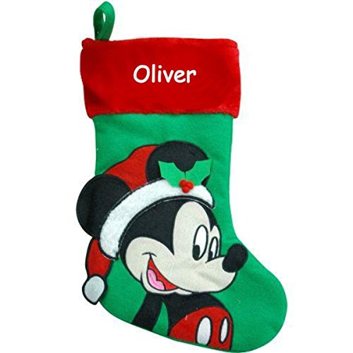 Personalized Disney Christmas Stocking Mickey Mouse