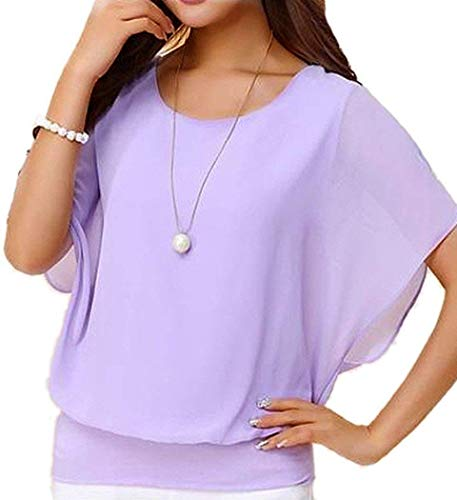 Womens Blouse T Shirt Poncho Army Sleeveless Medium Sailor Bow Navy Plum Fitted Blue Floral Moon Coco Chiffon Indian Fall Split red dot Petite Military]()