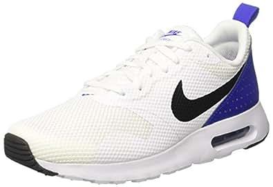 Nike Men's Air Max Tavas White/Black Paramount Blue Running Shoe 8.5 Men US