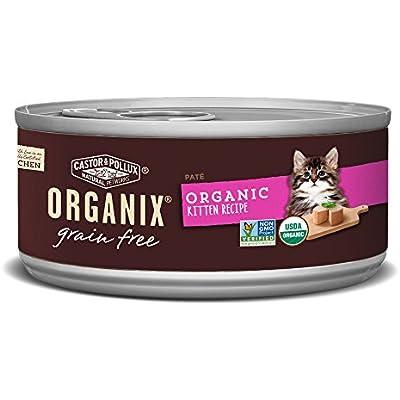 Castor & Pollux Organix Grain Free Healthy Wet Kitten Food