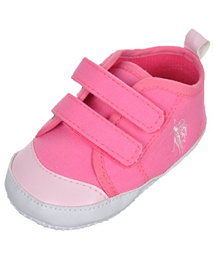 us-polo-assn-baby-girls-dual-strap-canvas-sneaker-booties-pink-9-12