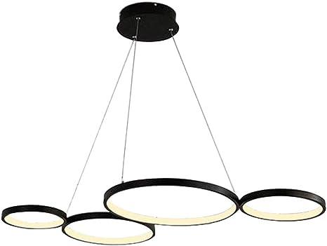 Lampe Esstisch Küchenlampe Trio Stoffschirm LED Pendelleuchte LUGANO dimmbar
