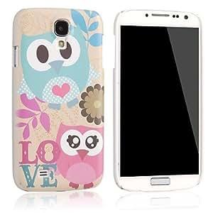 Zaki-Love Owl Hard Plastic Case Cover for Samsung Galaxy S4 i9500