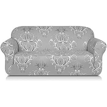 Amazon Com Tikami Printed Floral Sofa Slipcovers Stretch