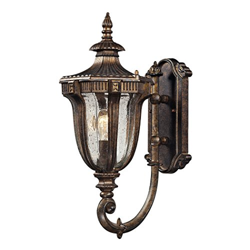 Sturgess Castle 1 Light Outdoor Sconce In Regal Bronze - Regal 1 Light Pendant