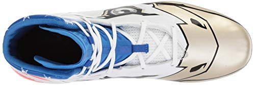 Pictures of Under Armour Men's Highlight MC - Limited Edition Football Shoe, Black (001)/White, 9 2
