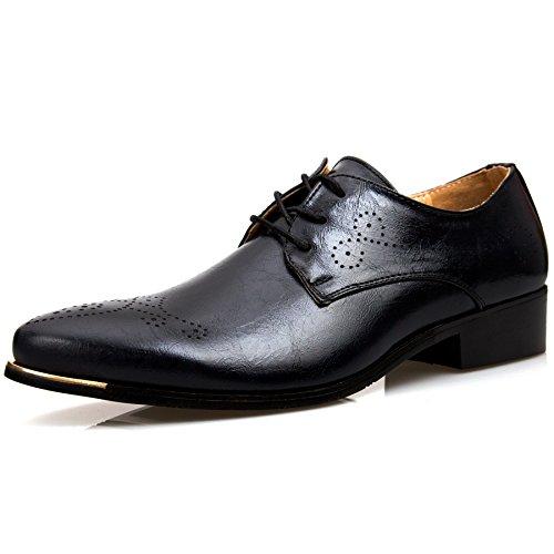 [デザート] フォクスセンス Foxsense ビジネスシューズ 紳士靴 外羽根 ストレートチップ 革靴