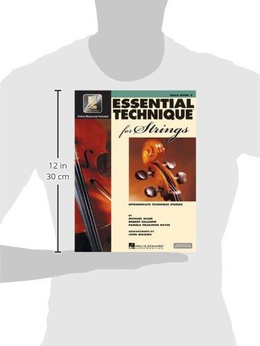 essential technique 2000 for strings cello intermediate technique studies