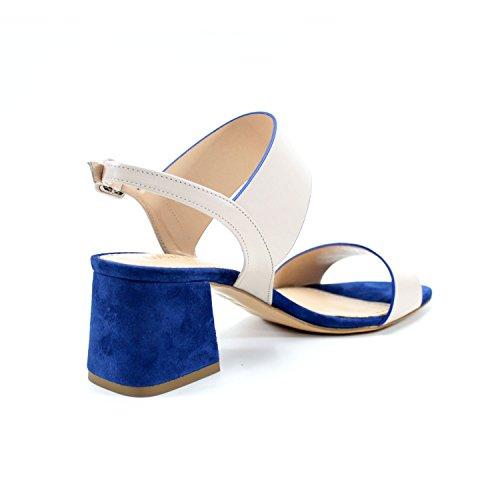 En Para Y Azul Costura Hecha Con Cuero Rea 6 Taln Mujeres Cm Mano Hechos Beige Cmodo Giorgio Evento Sandalias Partido Zapatos Encanto Italia Alta A De Genuino Del Ceremonia x0wq4nEp