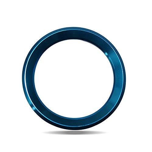 (car Interior-QLND: Car Styling Steering Wheel Logo Emblems Ring Decoration Sticker for Skoda Octavia 2 A5 A7 Rapid Fabia Superb Citigo Accessories)