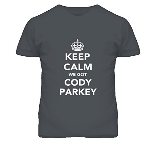 Mad Bro Tees Keep Calm Cody Parkey Philadelphia Football Fan Mens Funny T Shirt 2XL Charcoal Grey