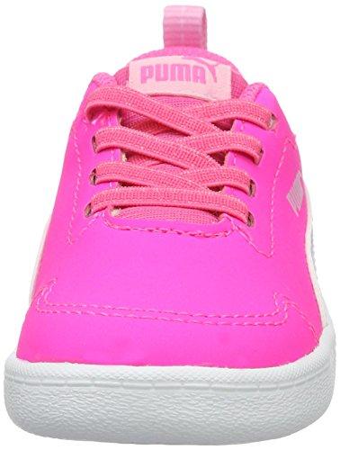 knockout pink Pink white Sneaker Courtflex Puma puma Kinder Inf Unisex 04 0qUxY
