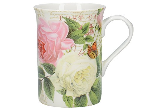 "Creative Tops ""rose Garden"" Fine Bone China Mug In Gift Box, 235ml (8 Fl Oz)"