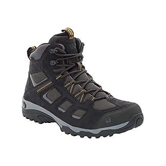 Jack Wolfskin Herren Vojo Hike 2 Texapore MID M Wasserdicht Trekking-& Wanderstiefel, Grau (Phantom 6350), 43 EU 13