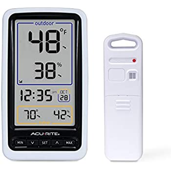Amazon com: La Crosse Technology Indoor/Outdoor Temperature