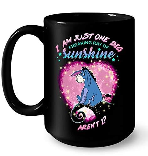 Eeyore I Am Just One Big Freaking Ray Of Sunshine Aren't I Mugs 11OZ Coffee Mug