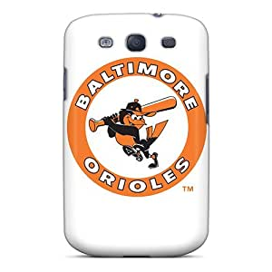 Galaxy S3 Case Slim [ultra Fit] Baltimore Orioles Protective Case Cover