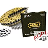 DERBI 50 SENDA R DRD DEVIL-04/05-KIT CHAINE AFAM-48010490