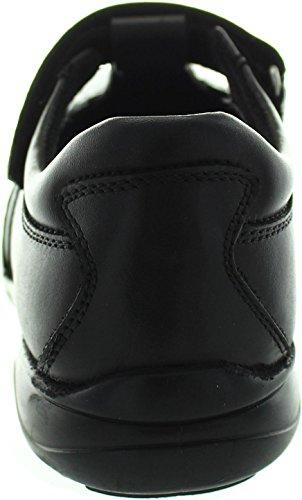 Term  Janine T Bar, Chaussures de ville à lacets pour fille noir noir