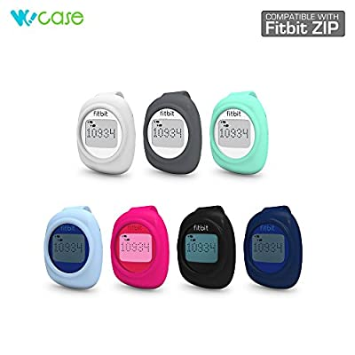 WoCase Clip (Classic Style) for Fitbit Zip (Best Gift for Fitbit Zip User) Activity and Sleep Tracker Wristband Band Bracelet (Zip size, Fits Most Wrist)