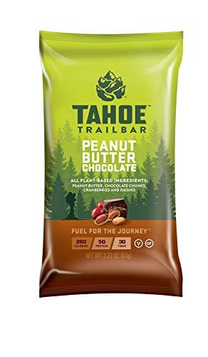 Tahoe Trail Bar - Energy Bar - Peanut Butter Chocolate (2.22 Ounce Protein Bar, 12 Count)