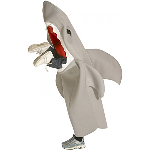 [GSG Shark Lil Man Eating Shark Costume Kids Halloween Fancy Dress] (Scary Bee Costume)