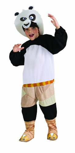 Kung Fu Panda 2 Po Costume And Headpiece - Toddler (Kung Fu Panda Halloween Costumes For Toddlers)