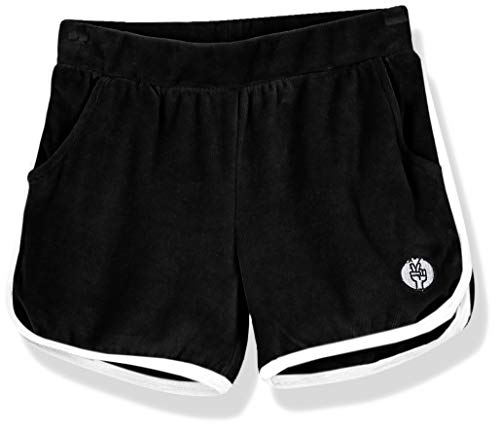 Kid Nation Girls Elastic Sport Retro Shorts 4-12 Years