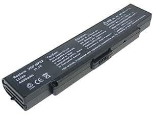 Wasabi Power® Laptop Battery / Notebook Battery for the Sony VAIO VGN-AR270, VAIO VGN-AR28GP, VAIO VGN-AR290FG, and VAIO VGN-AR290G 4400mAh