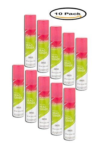 PACK OF 10 - Designer Imposters Head Turner Fragrance Body Spray, 2.5 oz