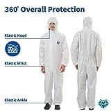 Medtecs Disposable Coveralls Suit Medical