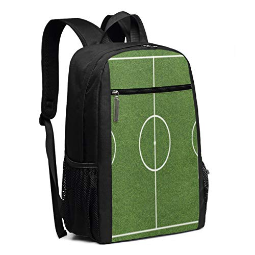 Casual Daypack Travel Laptop Backpacks For Women Men Soccer Field Grass Stadium Game Laptops Shoulder Bag College School Notebook Computer Bags Multipurpose Sports Fitness Daypacks For Camping 17 Inch