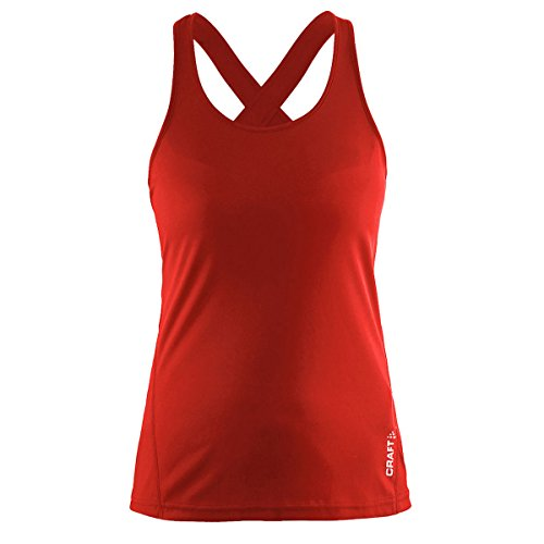 (Craft Sportswear Women's Mind Running and Training Fitness Workout Singlet Sleeveless Tank Top)
