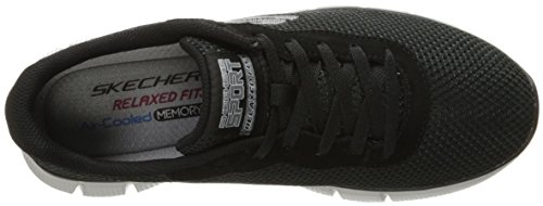 Skechers Equalizer 2.0-Arlor, Scarpe da Ginnastica Basse Uomo Nero (Blk)