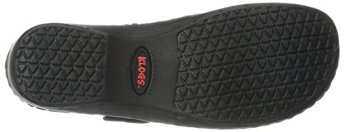 Klogs Usa Womens Brisbane Mule Nero Liscio