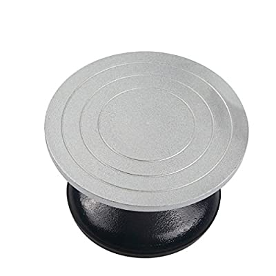 7 inch Diameter Heavy Duty Metal Pottery Decorating Banding Wheel detail review