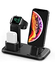 $20 Get Conido 3 in 1 Charging Stand for Apple Watch Series 4/3/2/1, AirPods Dock and iPhone Xs/X Max/XR/X/8/7/6S/6