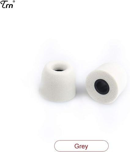 dewanxin Esponja Tapones/TRN Auriculares/Auriculares Recuerdo Memoria algodón para todos los auriculares in-ear, gris: Amazon.es: Instrumentos musicales